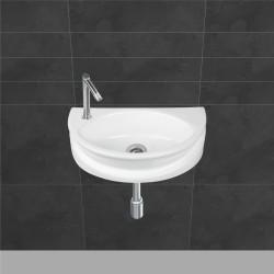 Belmonte Wall Hung Wash Basin Niko - White
