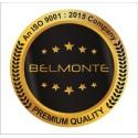 Belmonte Designer Pedestal Wash Basin Dolphin 03 Color - Wooden & White