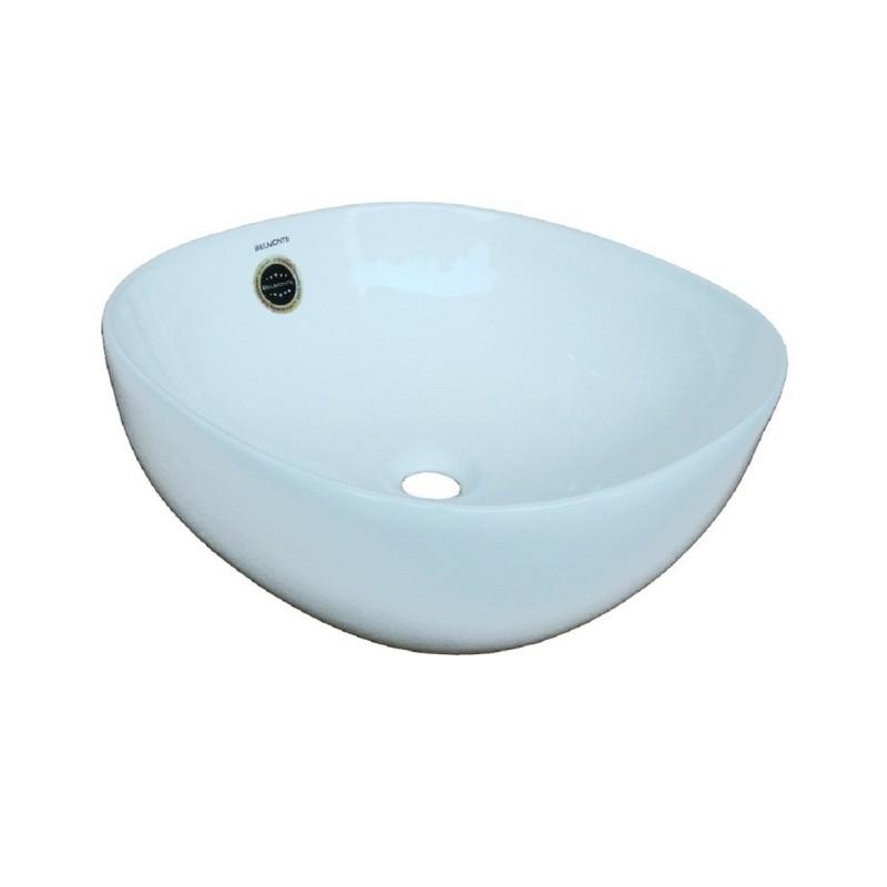 Belmonte Table Top Wash Basin for Bathroom - Olive - Ivory