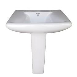Belmonte Pedestal Wash Basin Aldus - White