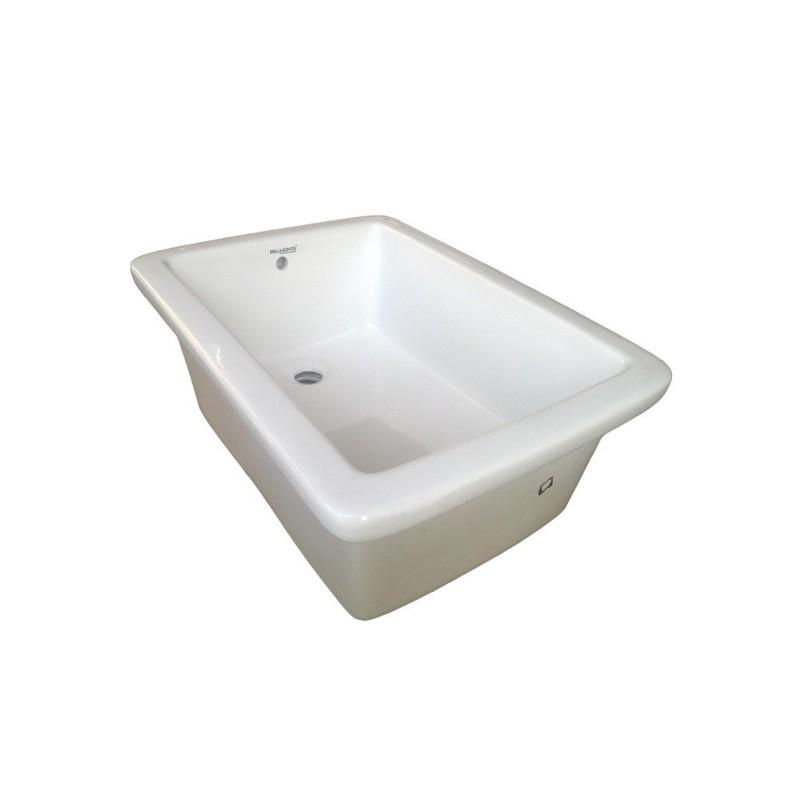 Belmonte Laboratory Sink 24 Inch X 18 Inch X 8 Inch - White