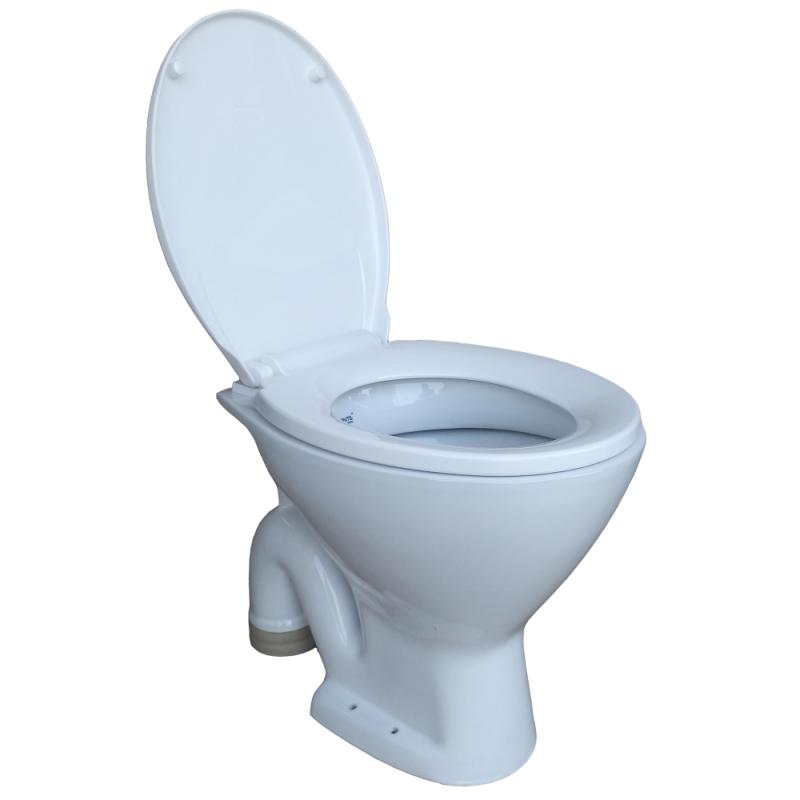 Buy Belmonte Ceramic Floor Mounted Commode Ewc Toilet