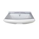 Belmonte Wash Basin Sofia 23 Inch X 18 Inch Without Pedestal - Ivory