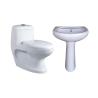Belmonte One Piece Water Closet Cally S Trap With Cera Pedestal Wash Basin - White