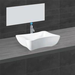 Belmonte Table Top Wash Basin Gracy - White